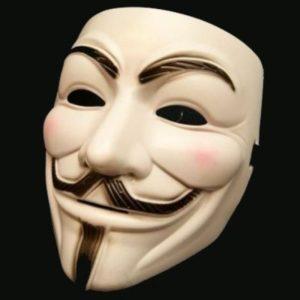 Maska V jako Vendetta
