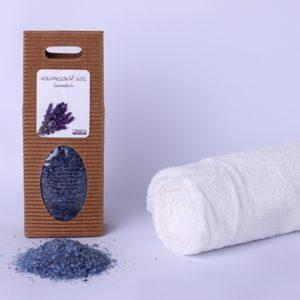 Koupelová sůl: Levandule (dárková krabička)