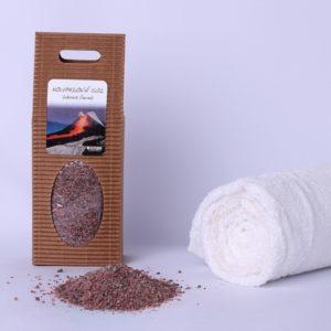 Koupelová sůl lávová černá 400 g