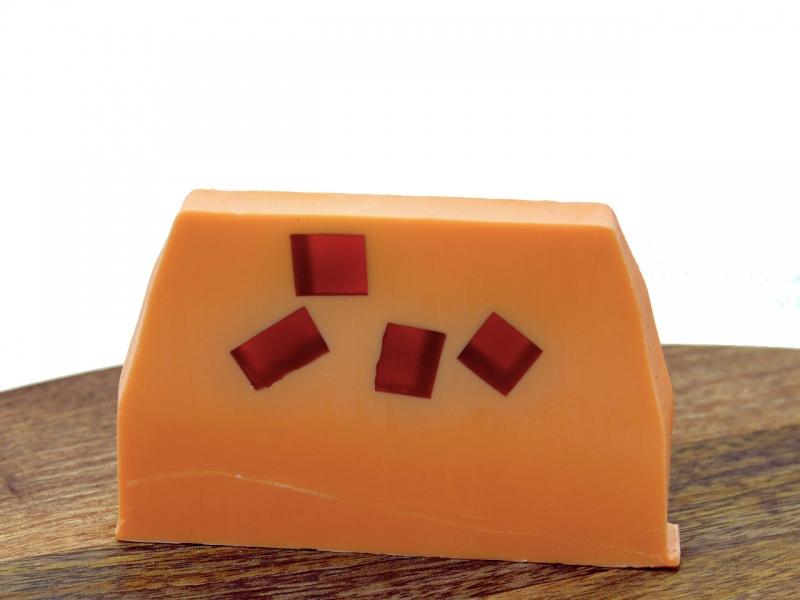 Přírodní mýdlo s pomerančem a skořicí 100g